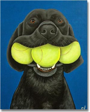 Labrador Retriever Gifts: Black Lab Art Prints, Posters ...