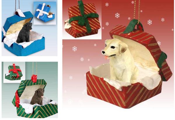 Labrador Christmas Ornaments