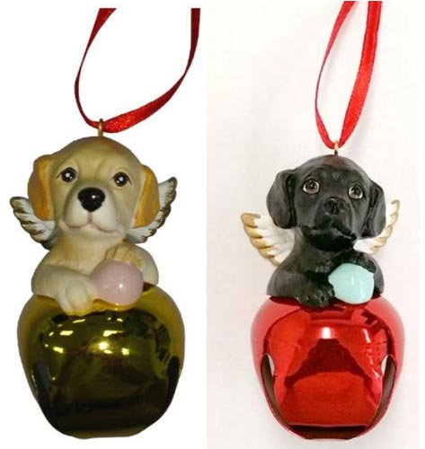 Labrador Puppies Ornaments