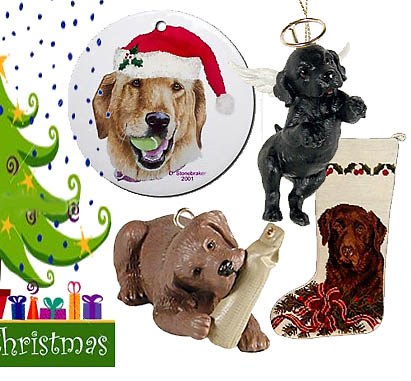 labrador retriever giftscom lab christmas ornaments decor - Labrador Outdoor Christmas Decoration