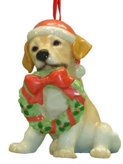 Labrador Retriever gifts.com: Lab Christmas Ornaments & Decor