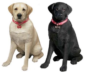 Ordinaire Labrador Sculptures Life Size