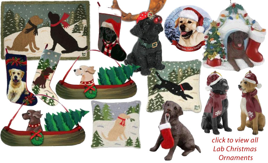 labrador christmas ornaments