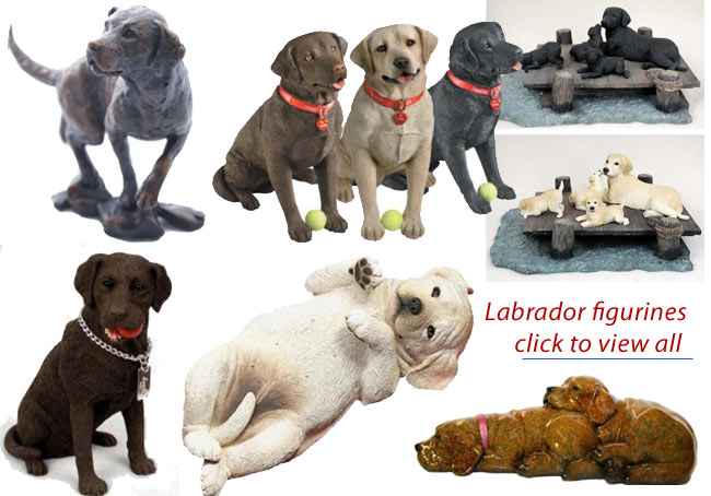 labrador figurines