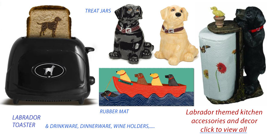 labrador kitchen accessories