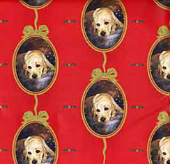 Labrador Retriever Gift Wrap