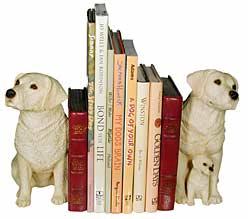 BOOKENDS LAB BOOK ENDS LABRADOR RETRIEVER BOOKENDS