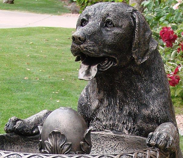 Superieur ... Labrador Garden Fountain