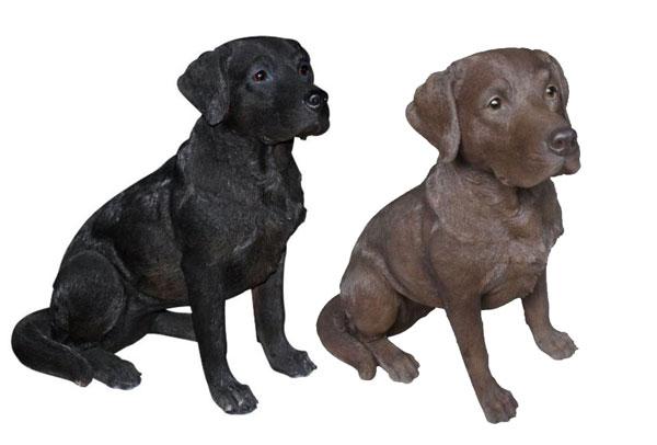 Incroyable Lifesize Labrador Retriever Garden Statues