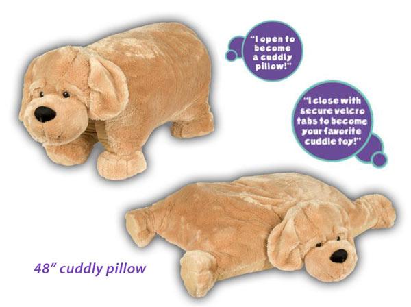 Animal Pillow Chum Dog : Labrador Retriever-Gifts.com, Plush & Stuffed Labradors
