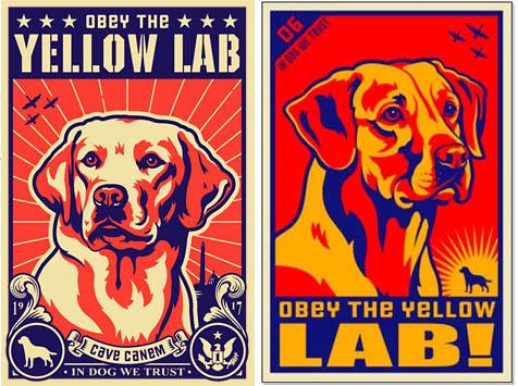 Kevin Daniel Lab Labrador Retriever Hunting Poster 11x14 ART PRINT Dog Tired 2